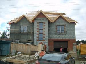 Фотография построенного дома по проекту К-260А