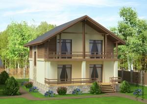 Проект дома 10 на 10 М142