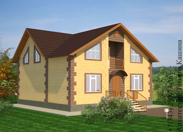 Truthnirawq for Piccola casa con avvolgente portico