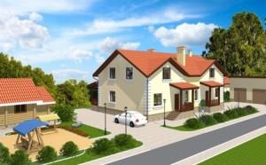 Проект дома на 2 хозяина А-278-2