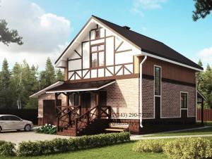 Проект дома 8 на 10 С118