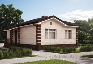 Проект дешевого одноэтажного дома