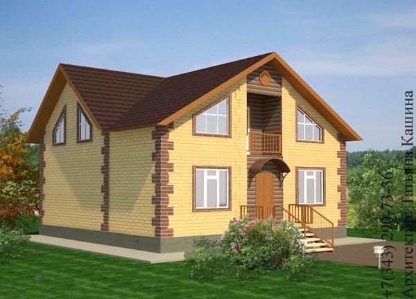 Фото кирпичных домов из желтого кирпича 161