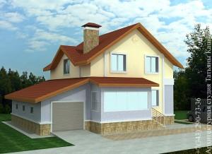 proekt-doma-iz-penoblokov-s-garazhom