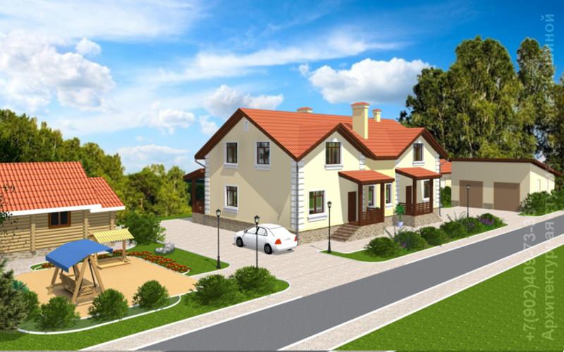 Проекты кирпичных домов - купить проекты домов из