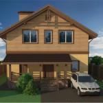 Проект дома площадью 144,2 кв.м. Габариты 10х10 метров