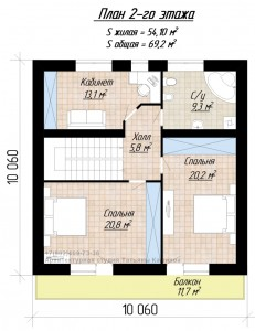 plan-doma-10-na-10 М142 plan 2