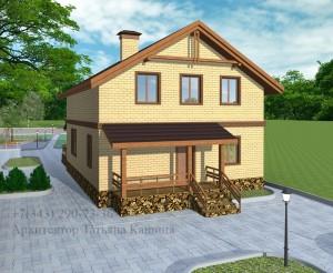 готовый проект дома 10 на 10