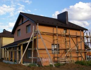 Проект дома 10 на 10 фото бокового фасада