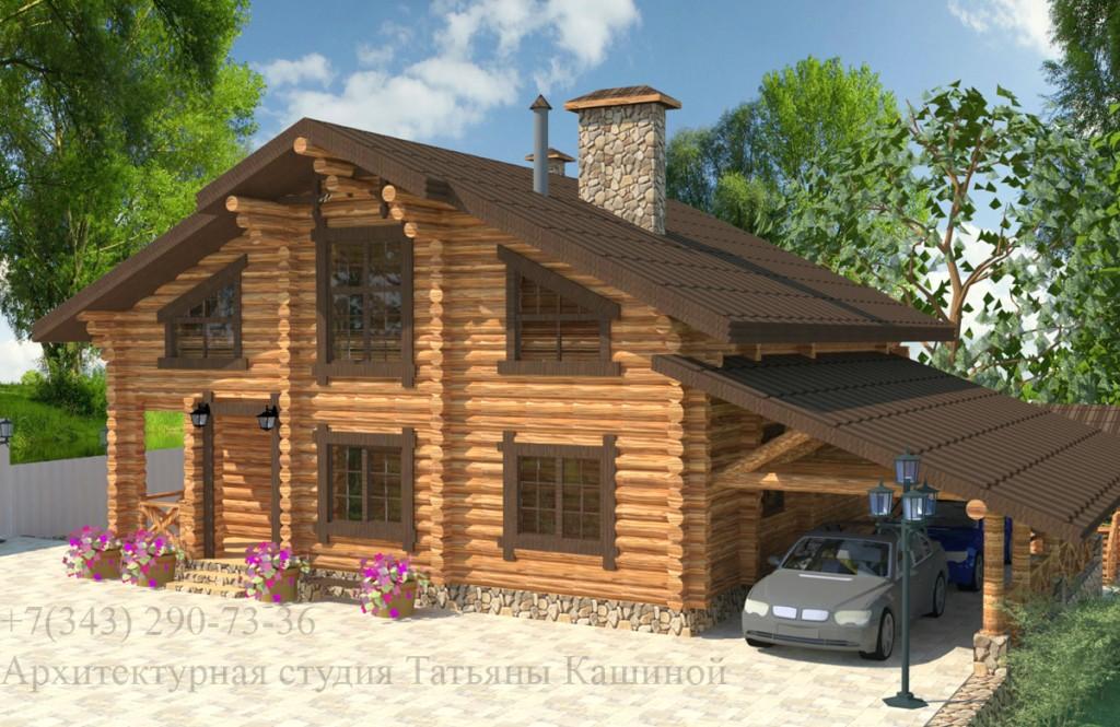 Индивидуальные проекты деревянных домов