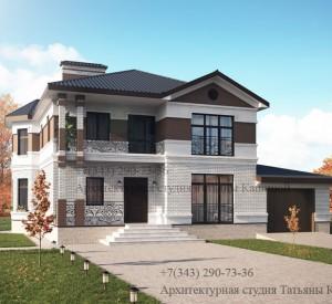 Готовый проект дома М-189