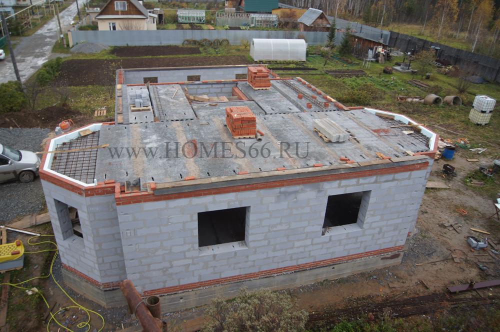 фото дома построенного по типовому проекту К-200В перекрытия