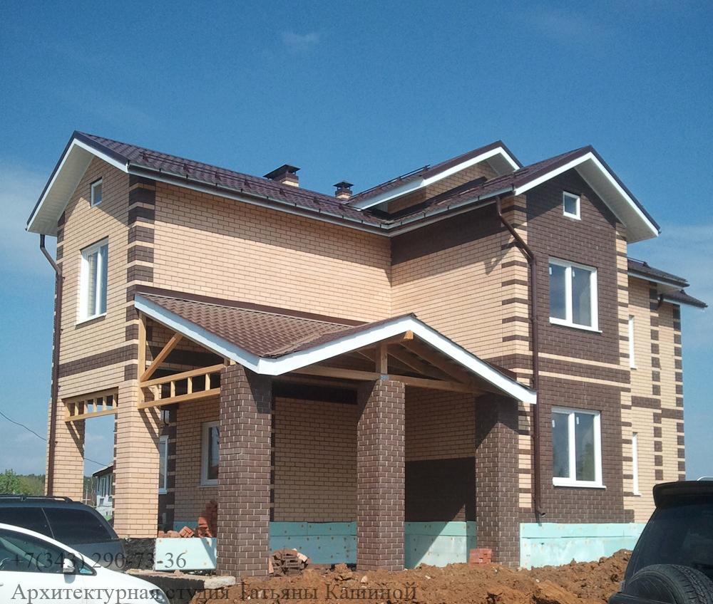 Строительство двухквартирного дома. Май 2013