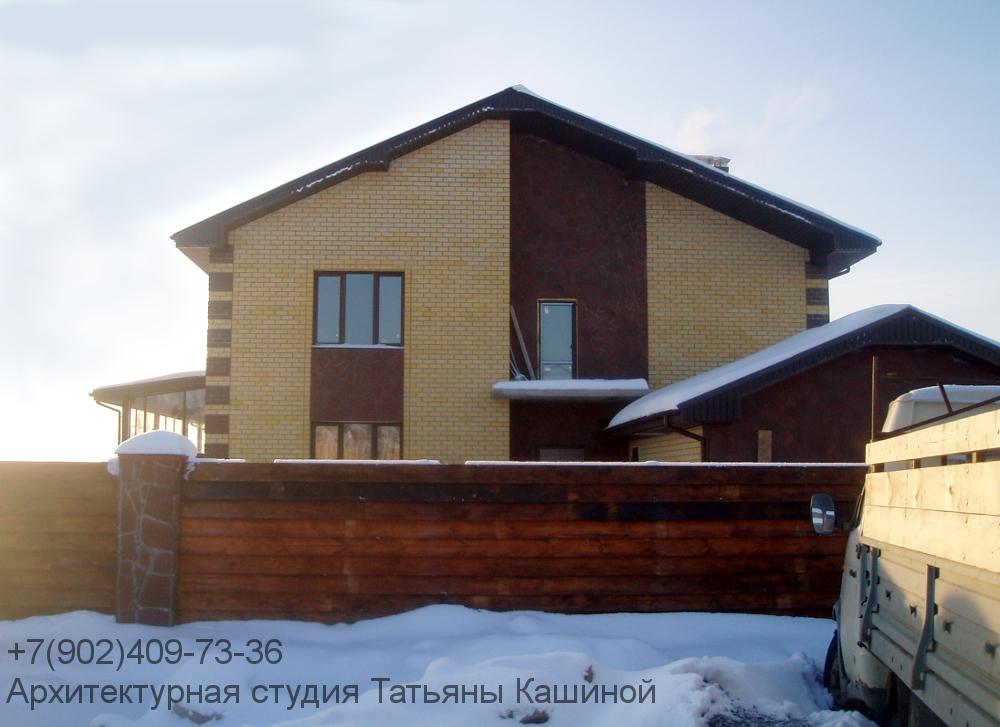 Фото дома построенного по проекту К-270Р