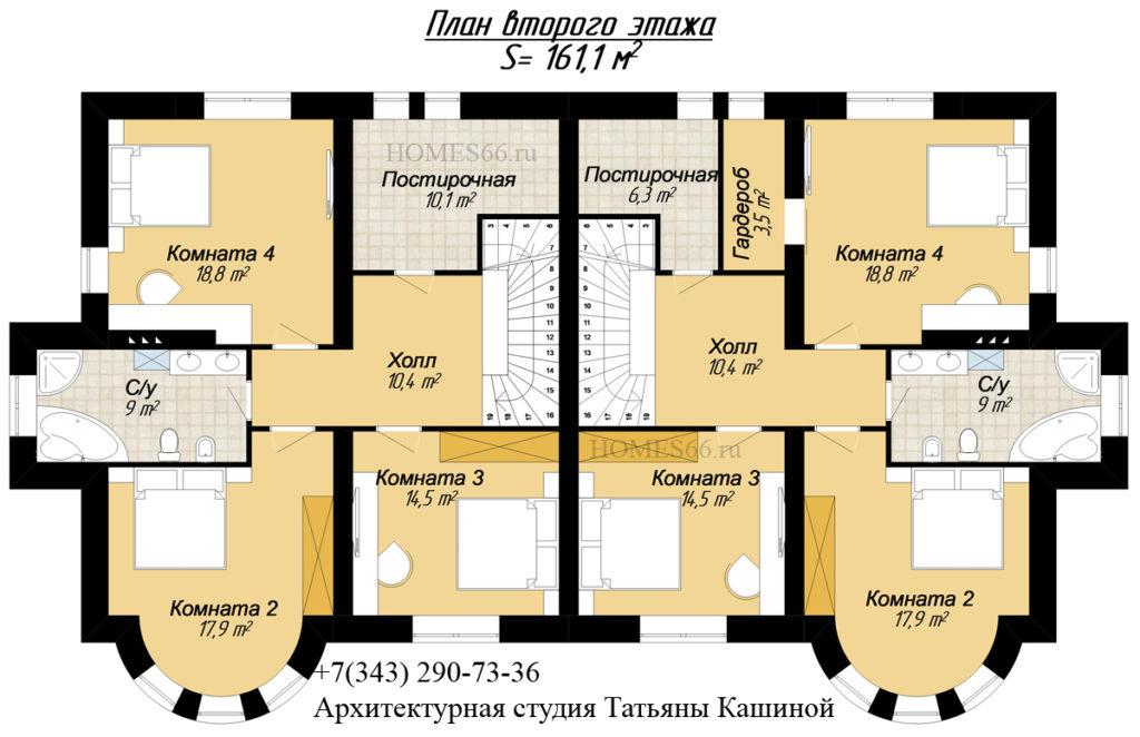 Малиновка. План второго этажа